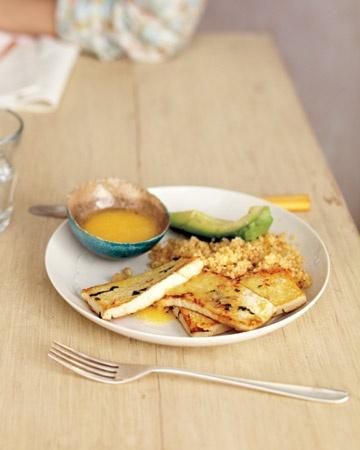 Shallot-Marinated Tofu with Miso Dipping Sauce | {food ...