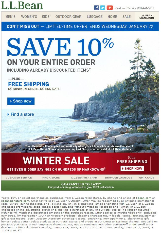 Ll bean clothing store. Online clothing stores
