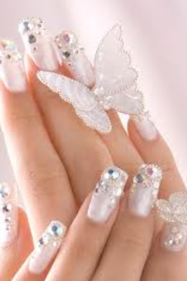 Butterfly nails | Nails | Pinterest
