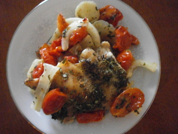 Chicken with Tomatoes and Fennel | Recipes from my Blog | Pinterest