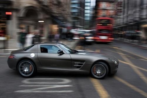 A sports car in the UK
