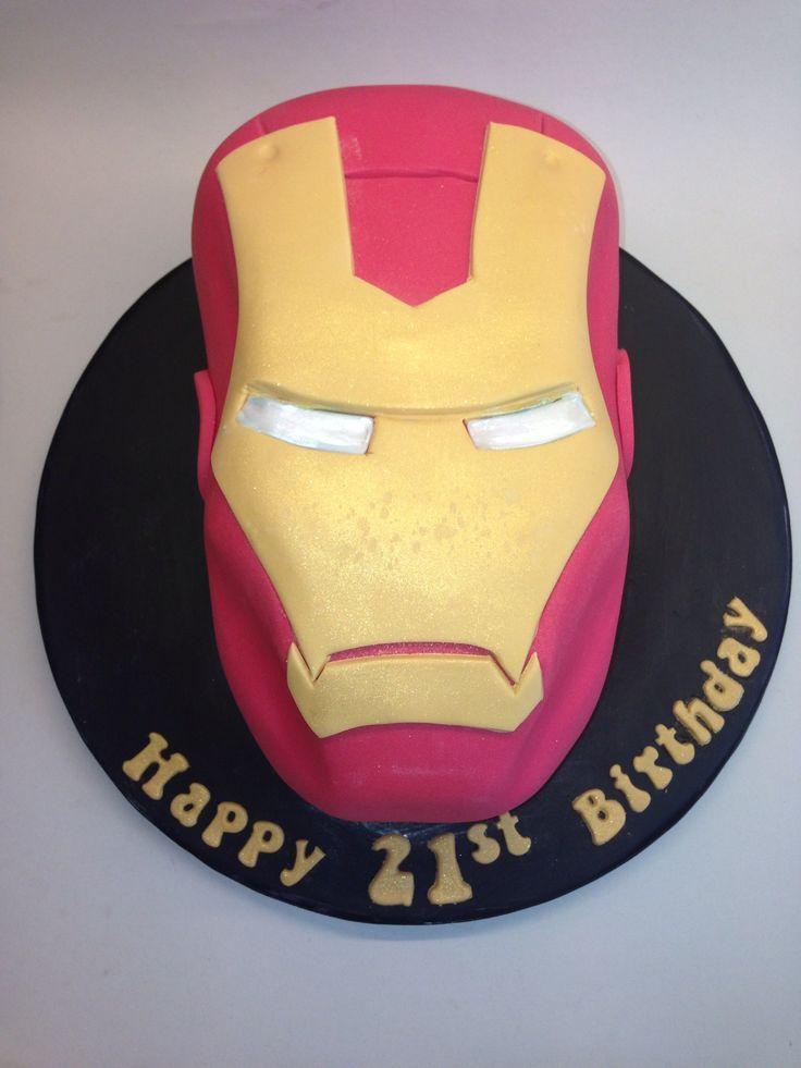 Cake Decorating Iron Man : Iron man cake {Decorating Cakes Treats} Pinterest