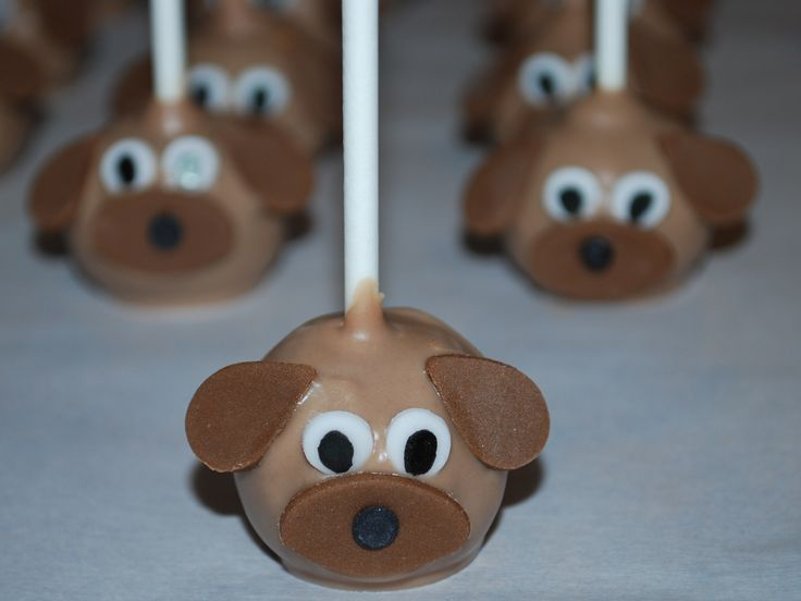 Cake Pops Puppy Dogs