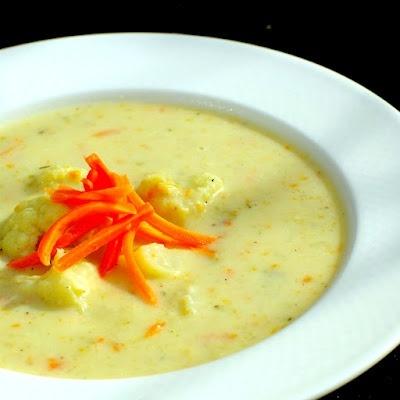 Cream of Cauliflower Soup. | Best Pins Today! | Pinterest