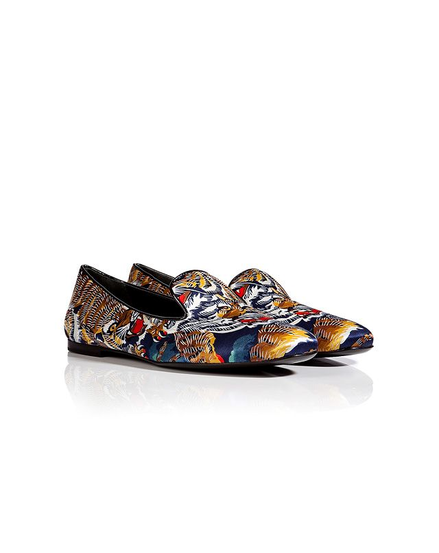 Kenzo Satin Flying Tiger SlippersKenzo Flying Tiger Shoes