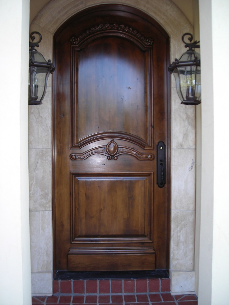 Custom Wood Entry Door Entry Doors Pinterest