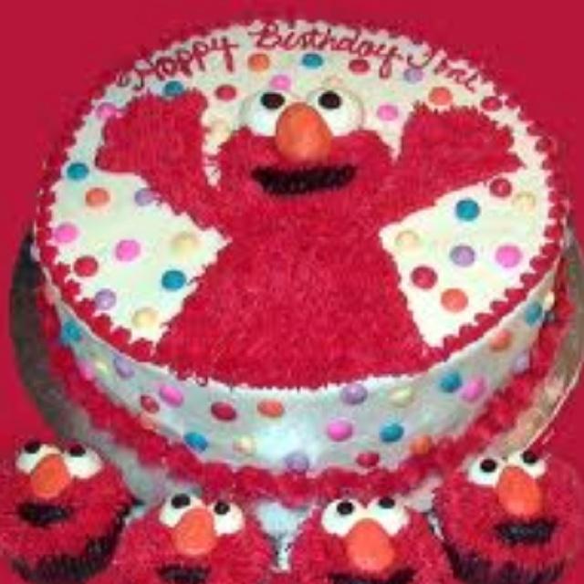 Elmo 2nd Birthday Cake Ideas 10747 Elmo Birthday Cake 2nd