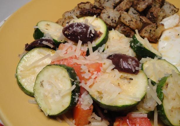 Greek Style Zucchini Salad Recipe — Dishmaps