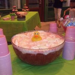 pink baby shower punch things i want to try pinterest