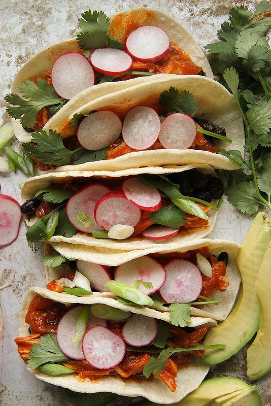 Braised Chicken Tacos | Recipe