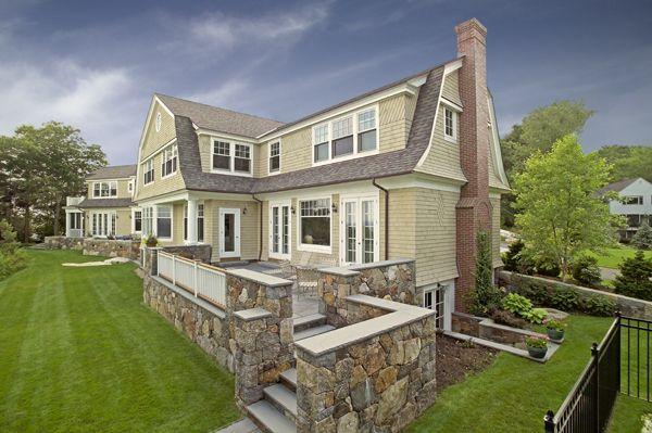Gambrel Roof Houses Pinterest