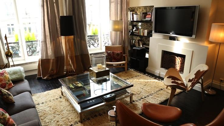 Le salon éclectique de Laura Gonzalez est chaleureux et atypique !