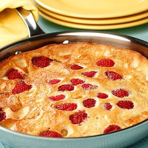 Oven Pancake with Sauteed Fruit & Berries   Recipe