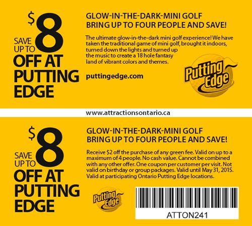 Putting Edge Coupons