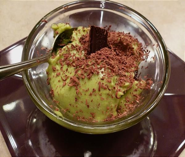 Avocado Honey Ice Cream Recipe — Dishmaps