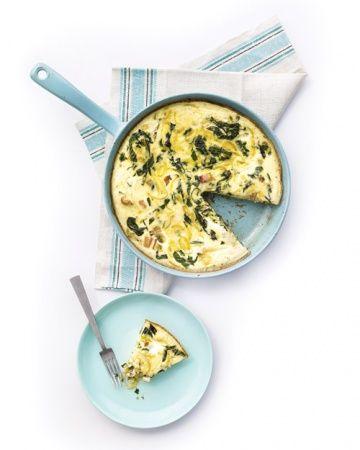 Swiss Chard Frittata | breakfast | Pinterest