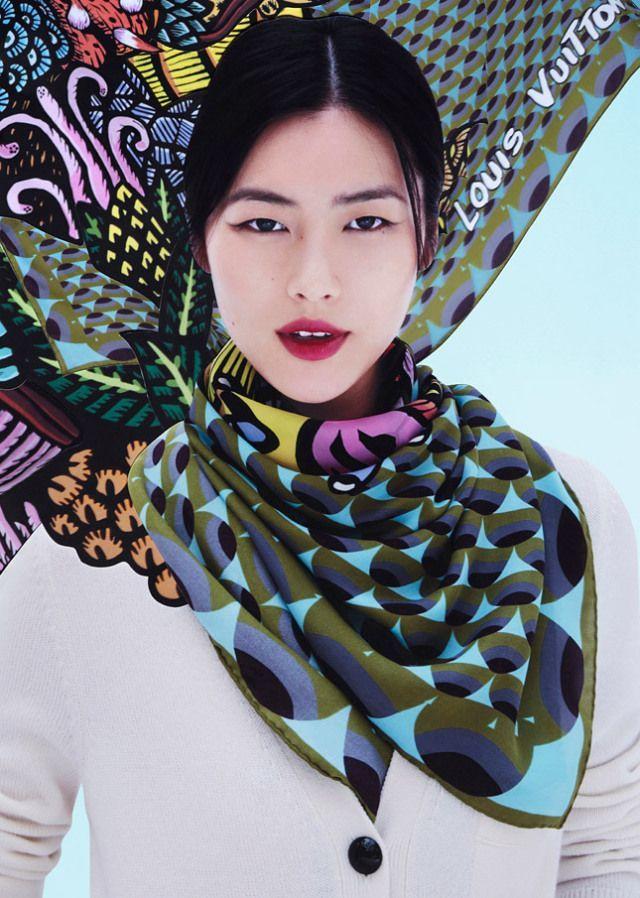 Liu Wen for Louis Vuitton a/w 2013 - 640 x 898  102kb  jpg