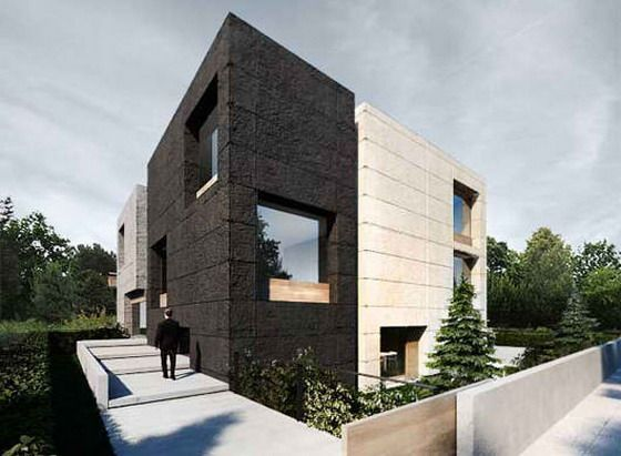 Pin by ivy on design pinterest for Modern office exterior design