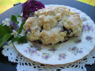 What Matters Most: Anneliese's Low Fat Blueberry Scones