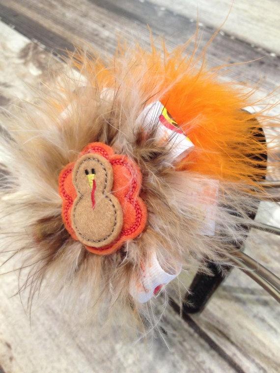 Gobble me up turkey headband by iluvututumuch on etsy 10 00
