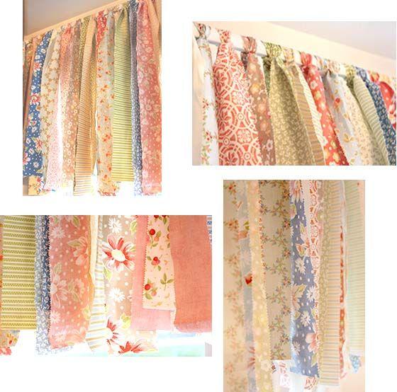 Как сшить шторы из остатков ткани фото 27