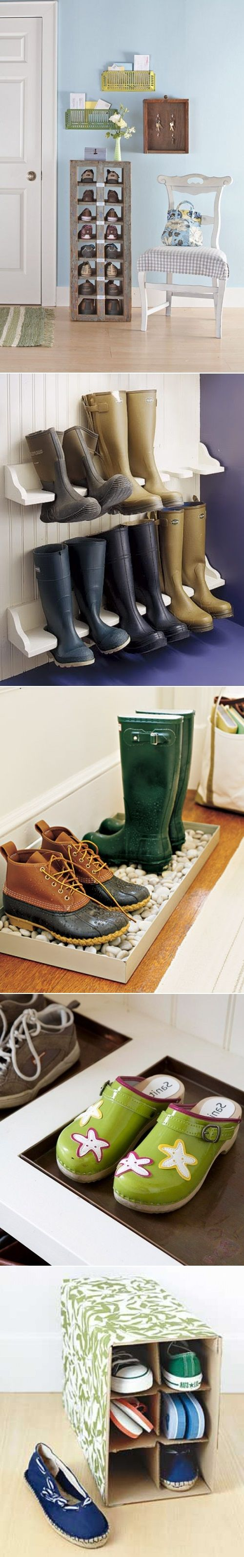 5 creative diy shoe storage solutions do it yourself - Diy storage ideas for shoes ...