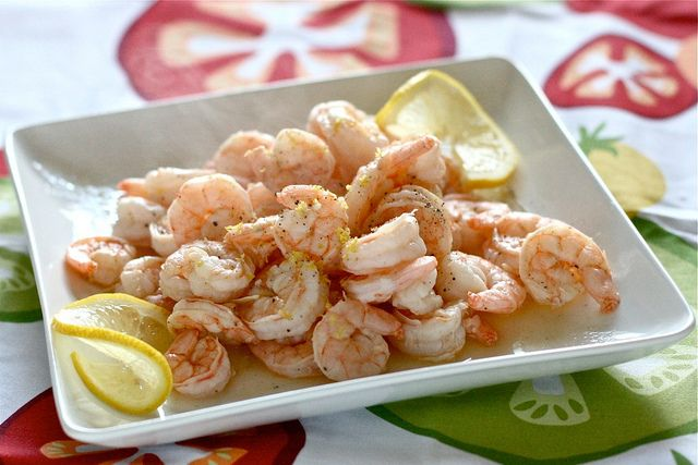 EASY and FAST Lemon and Garlic Shrimp! | Misc Food | Pinterest