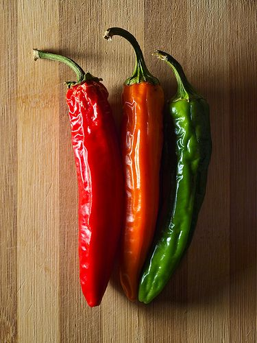 Chili peppers | Chile in everything! | Pinterest