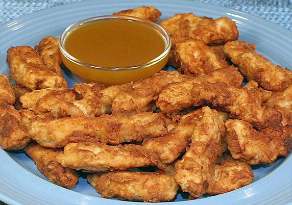 Chicken Strips with Honey Mustard Sauce | Eats ♨ | Pinterest