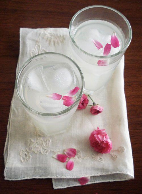 Rosewater Lemonade recipe. photographed by Lynda Felton. http ...