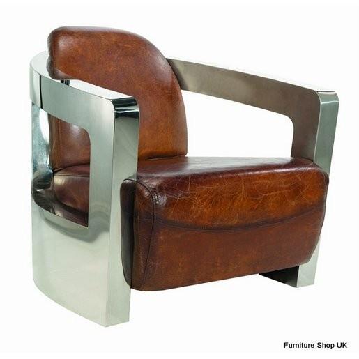 Vintage Aviator Leather Club Chair mmmhmmm