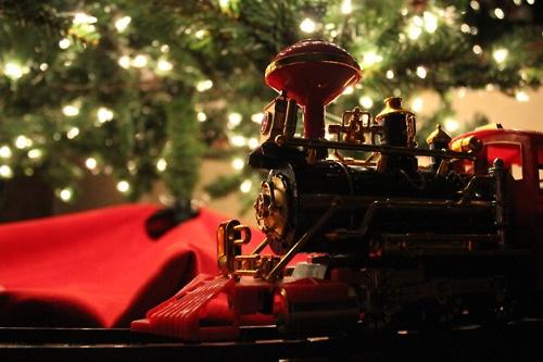 Christmas train... taken by MLstiles