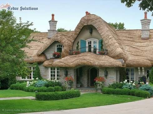 Storybook home plans fairytale homes pinterest for Fairytale cottage home plans