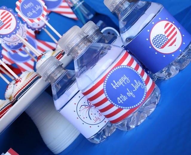 Water bottle labels-free printable