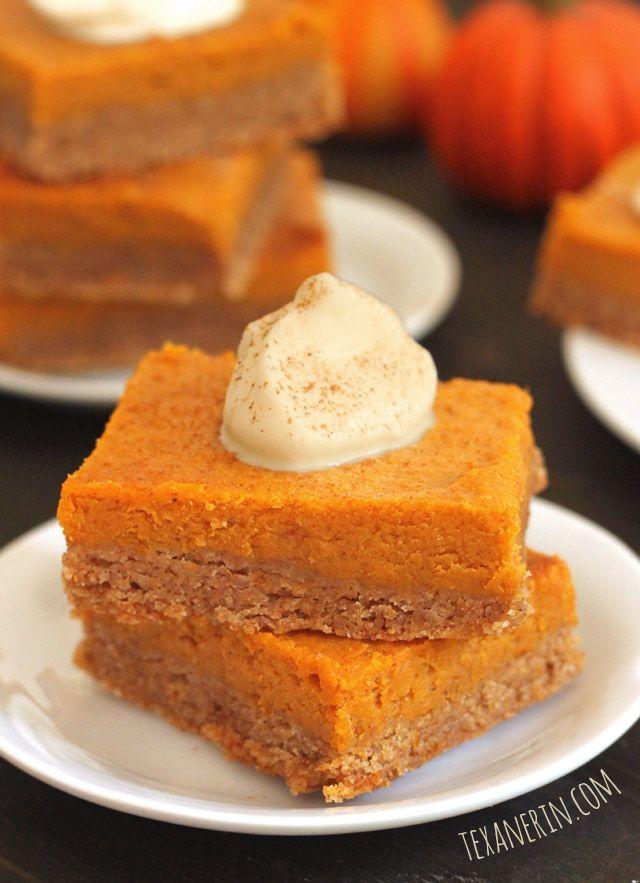 Whole Grain Gooey Pumpkin Butter Cake from Texanerin Baking