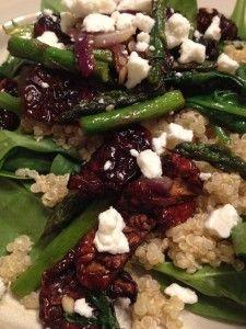 quinoa and asparagus salad | Recipes | Pinterest