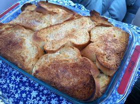 TanaLicious: Boozy Baked French Toast | yummy yummy | Pinterest