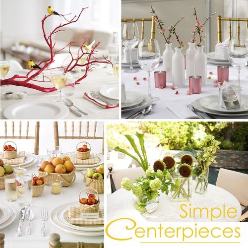 Table Top Easter Ideas