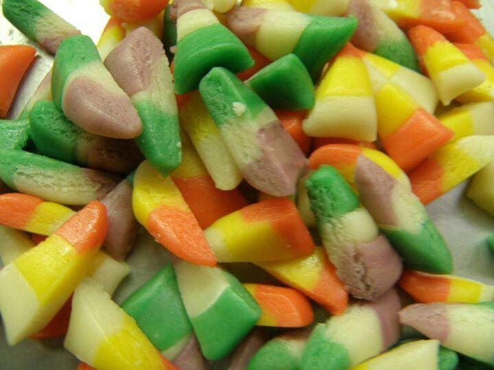 Homemade candy corn | Halloween party ideas | Pinterest