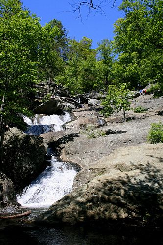 Cunningham falls state park is a cunning place to go this fall