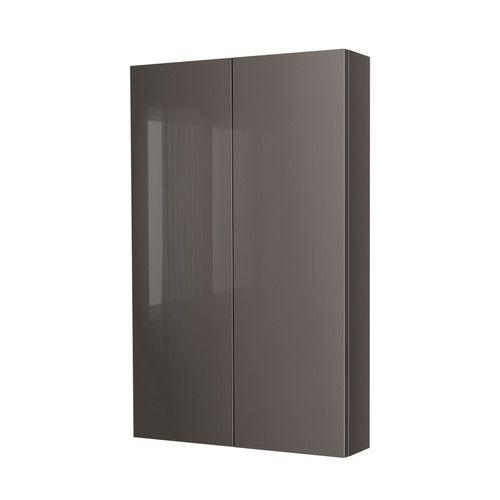 Ikea Kleiderschrank Raumteiler ~ GODMORGON Wall cabinet with 2 doors IKEA Shelves of tempered glass