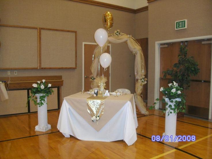 Decoracion Aniversario De Novios ~ bodas decoracion  Decorations de bodas de oro  Pinterest