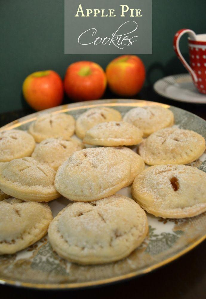 Apple Pie Cookies (vegan) | BakingTheLaw | Pinterest