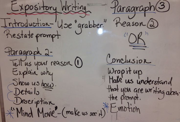 writing an expository essay in third person