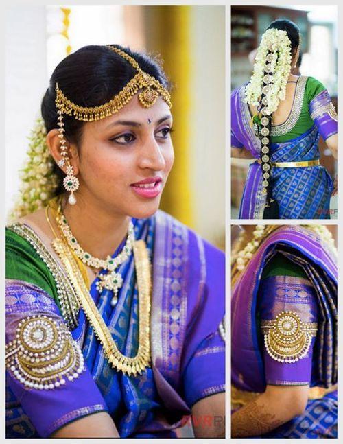 #Beautiful #Bollywood #Style #Indian #wedding #bride #marriage #shadi #india #blue #love