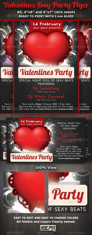 valentine's day nightclub themes