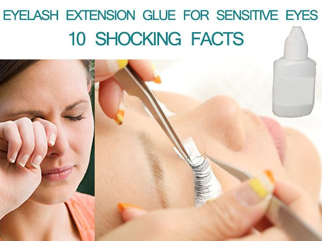 Reaction To Eyelash Extension Glue Triple Weft Hair Extensions
