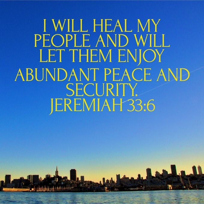 Bible Scriptures or Verses on Healing