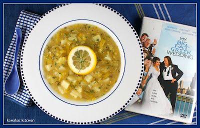 Greek-Inspired Potato-Leek Soup with Lemon and Dill