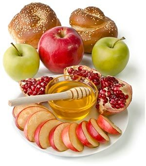 rosh hashanah food pictures